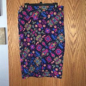 LuLaRoe large Cassie skirt